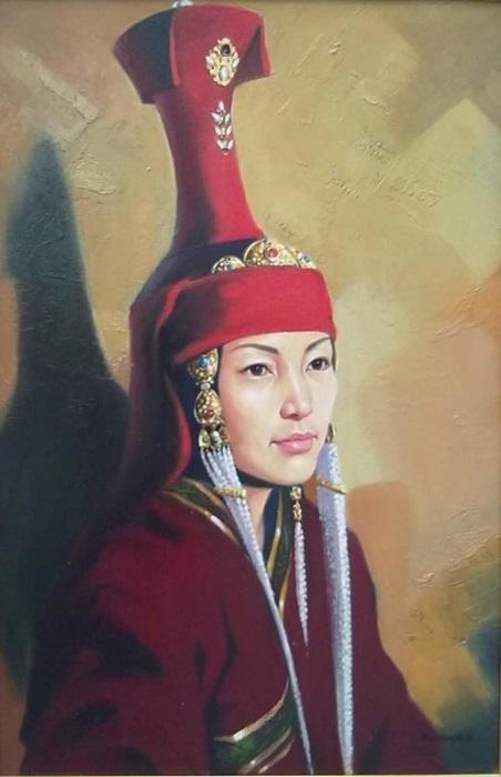 О самой младшей жене Тамерлана Сарай-мульк ханым заботилась, как о ребёнке, потому что она и была ребёнком.